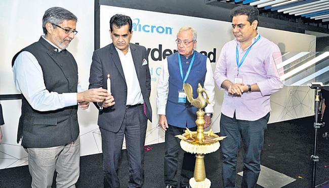 Micron Technology inaugurates new centre in Hyderabad - Sakshi
