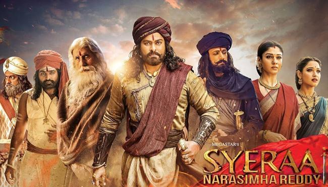 Sye Raa Narasimha Reddy box office collection on Day 3 - Sakshi