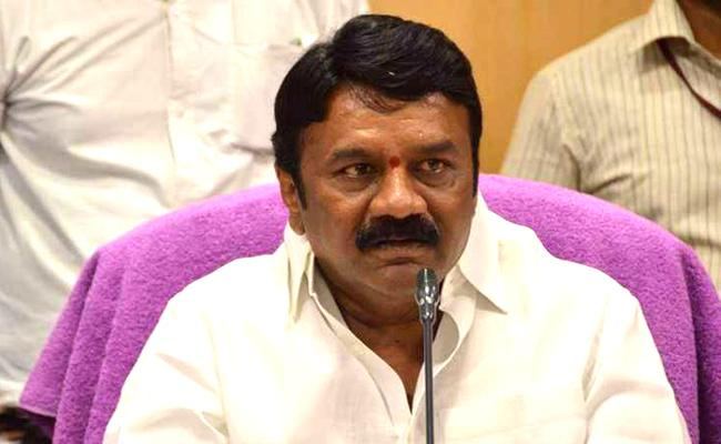 Minister Talasani Srinivas Fires On RTC Employees - Sakshi