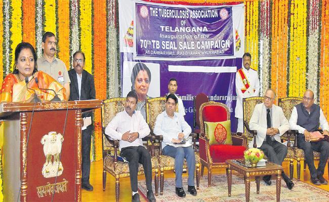 Telangana Should be Tuberculosis Free Says Governor Tamilisai - Sakshi