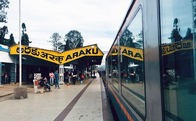 Vistadome Train Start in Visakhapatnam Araku - Sakshi