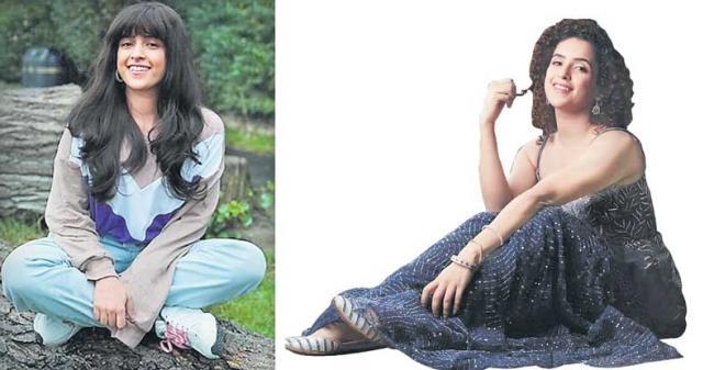Sanya Malhotra is ready to play Vidya Balan's on-screen daughter - Sakshi