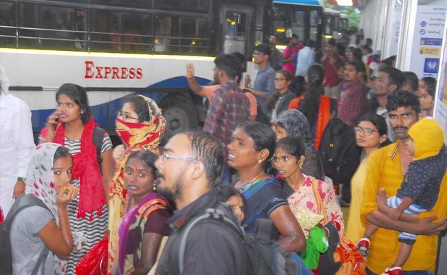 People Facing Problem With Telangana RTC Strike - Sakshi