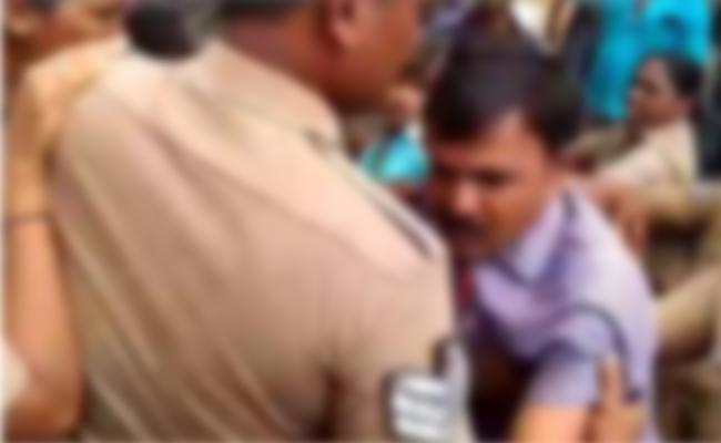 Teacher Arrest in Alcohol Case Tamil Nadu - Sakshi