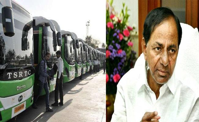 TS Government Operation RTC For Pragathi Bhavan For Face RTC Strike - Sakshi