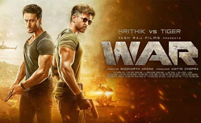 War box office collectionon Day 3 - Sakshi