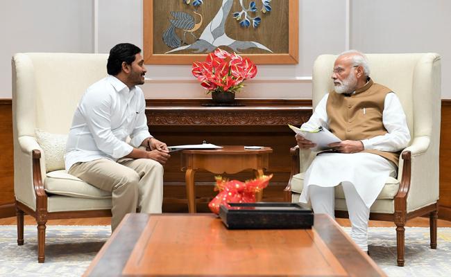 AP CM YS jagan Meeting With PM Narendra Modi - Sakshi