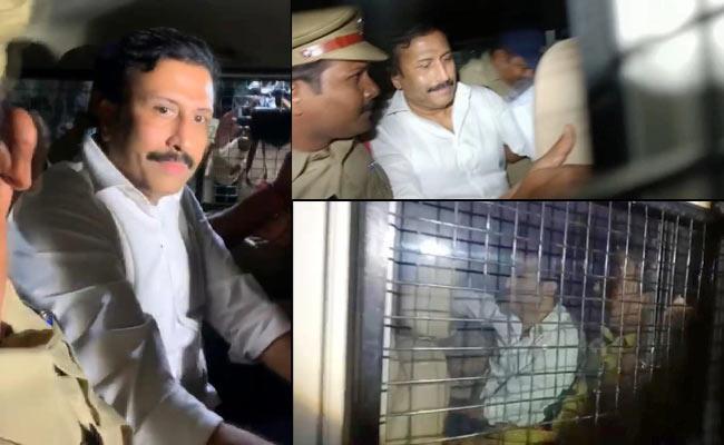Ravi Prakash Spends Restless First Night At Chanchalguda Central Jail - Sakshi