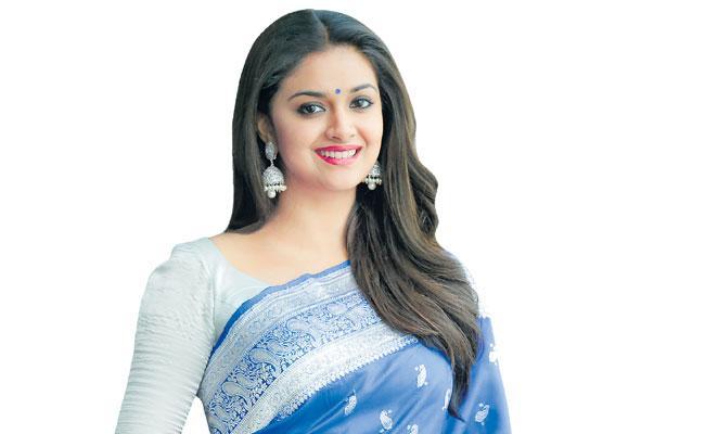 Sakshi Special Interview With Keerthi Suresh