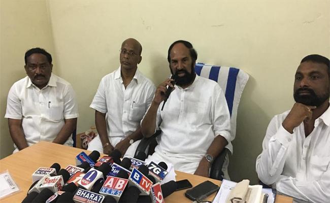TPCC Chief Uttam Kumar Reddy Comments on Huzurnagar Byelections - Sakshi