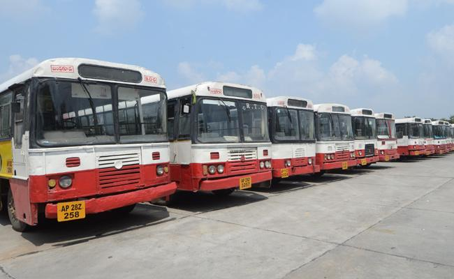 RTC Employees Strike Continued For 2nd Day In Telangana - Sakshi