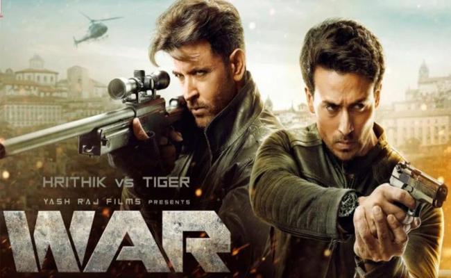 Hrithik Roshan Tiger Shroffs War is creating Storm At The Box Office - Sakshi