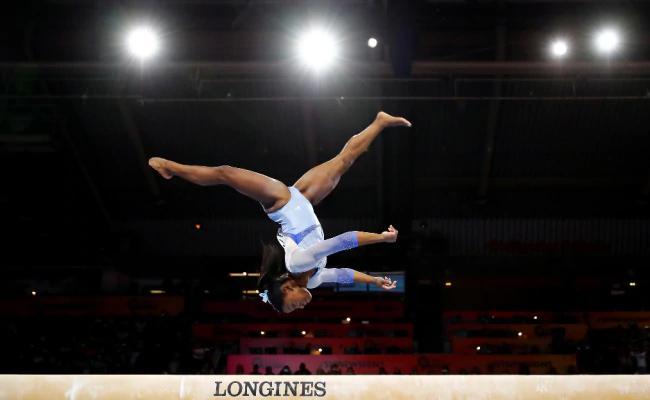 Biles New Skills Named After Her At World Gymnastics Championships - Sakshi