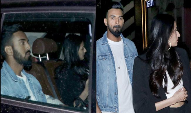 KL Rahul And Athiya Shetty Makes It Official Step Out Together - Sakshi