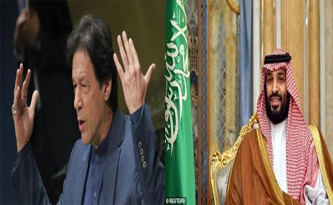 Pakistan Magazine Claims Saudi Prince Called Back Imran Khans plane - Sakshi