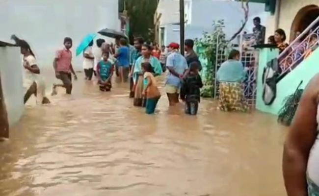 Heavy Rain In Anantapur District - Sakshi