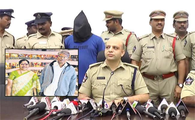 Mystery Revealed In Kakinada Couple Murder Case - Sakshi