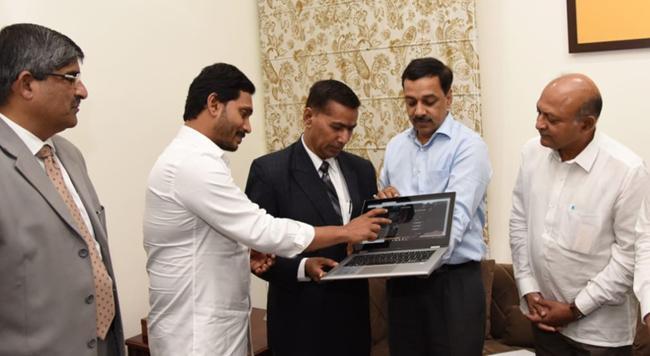Andhra Pradesh Judicial Preview Committee Website Launch - Sakshi