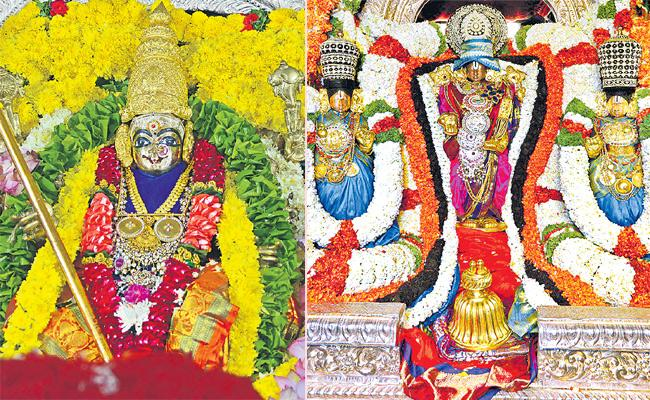 A very Happy and prosperous Dussehra Celebrations in Andhra Pradesh - Sakshi