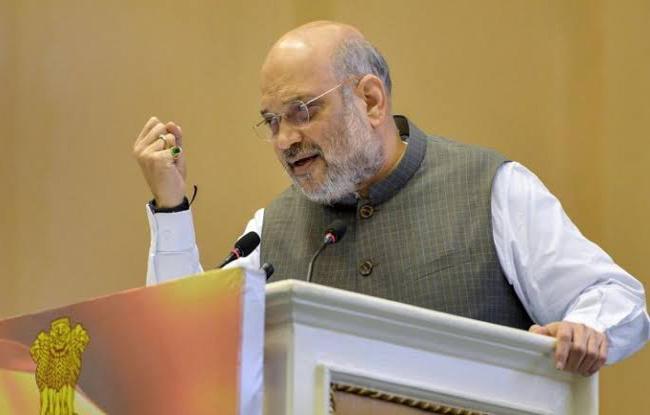 Kashmir Statehood Would Be Returned Once Situation Normalises: Amit Shah - Sakshi
