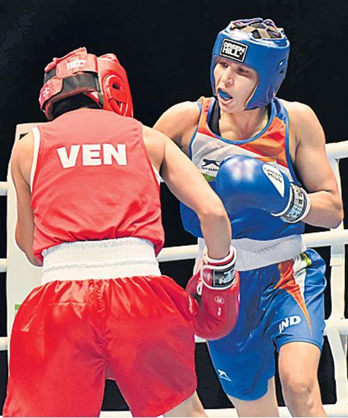Manju Rani In Quarters Of World Womens Boxing - Sakshi