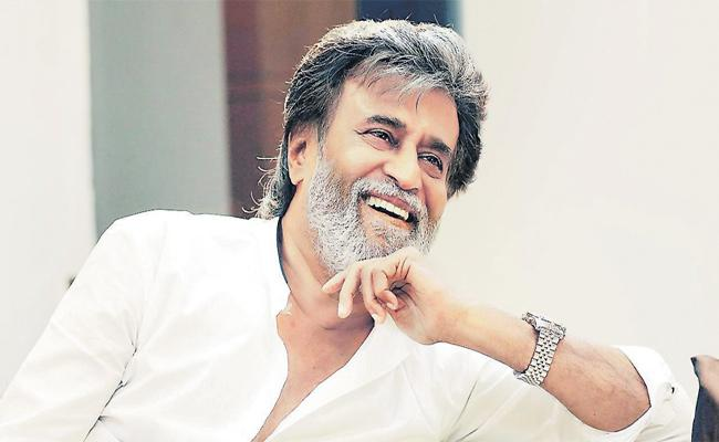 Tamil Superstar Rajinikanth Generous Towards Kalaijnanam - Sakshi