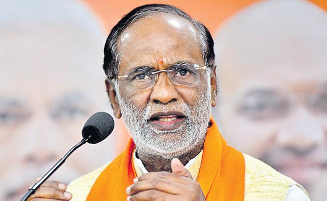 K Laxman Slams On TRS Government Over RTC Strike - Sakshi