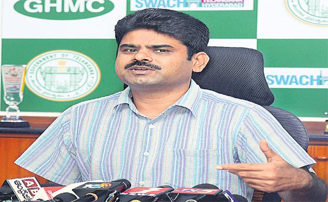 GHMC Collects The Tax Once The House Construction Is Finished - Sakshi