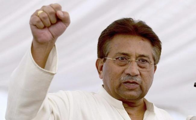 Pervez Musharraf Says Kashmir is in the Blood of Pakistan - Sakshi