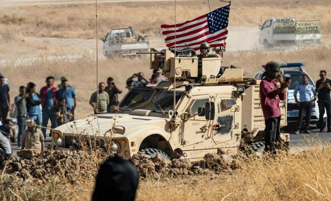 US Troops Withdrawn From Northern Syria - Sakshi