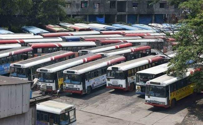 TSRTC Strike Continues Fifth Day - Sakshi