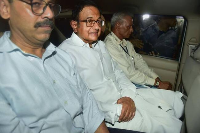AIIMS Says To High Court That P Chidambaram Is Fine - Sakshi