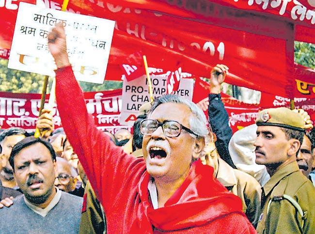 CPI Veteran Gurudas Dasgupta Passes Away - Sakshi