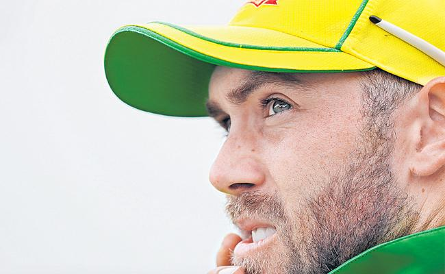 Australian Cricketer Glenn Maxwell Has Decided To Take A Break From International Cricket - Sakshi