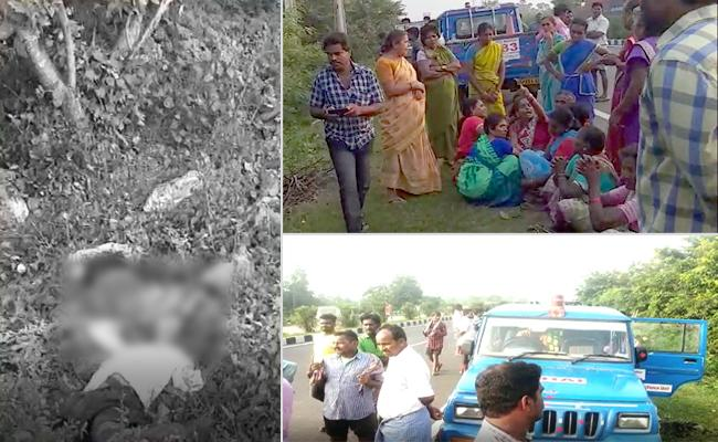 Wife And Husband Died In Visakapatnam Road Accident - Sakshi