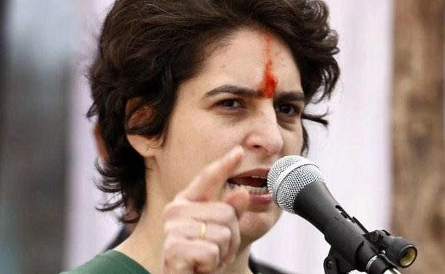 Priyanka Gandhi Response On Israeli Agencies To Snoop - Sakshi