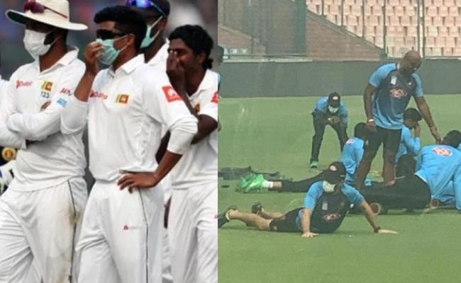 Ind Vs Ban: 2 Years Ago Sri Lanka Players Vomitted - Sakshi