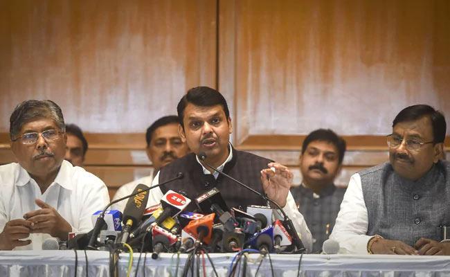 Maharashtra BJP Says Not Forming Government - Sakshi