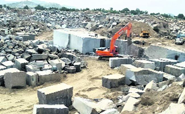 Illegal Granite Mining In Anantapur District - Sakshi