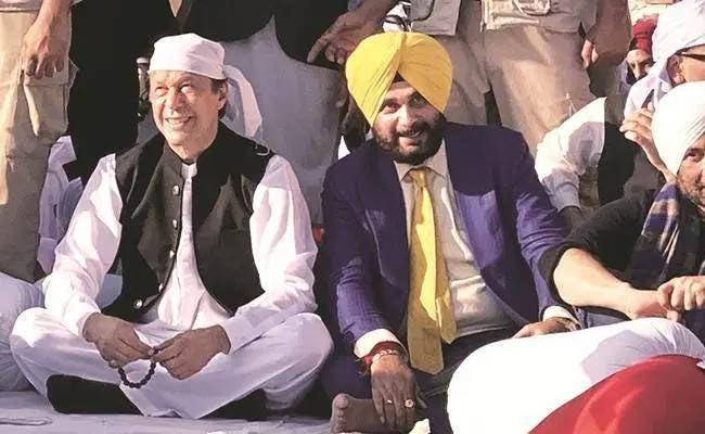 Imran Khan asking for Sidhu at Kartarpur opening Ceremony - Sakshi