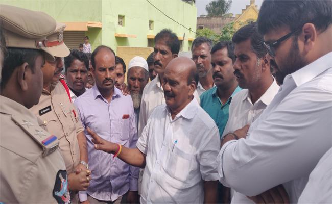 MP Reddappa Fires On Chandrababu Naidu In Chittoor - Sakshi