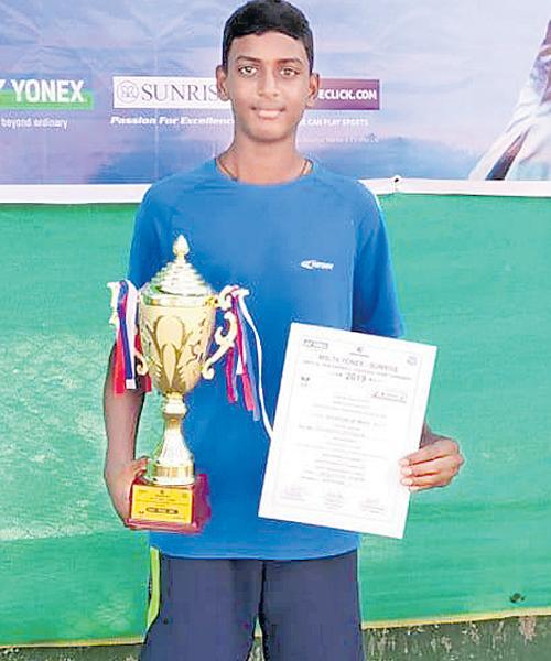 Vieeth Wins AITA Title First Time - Sakshi
