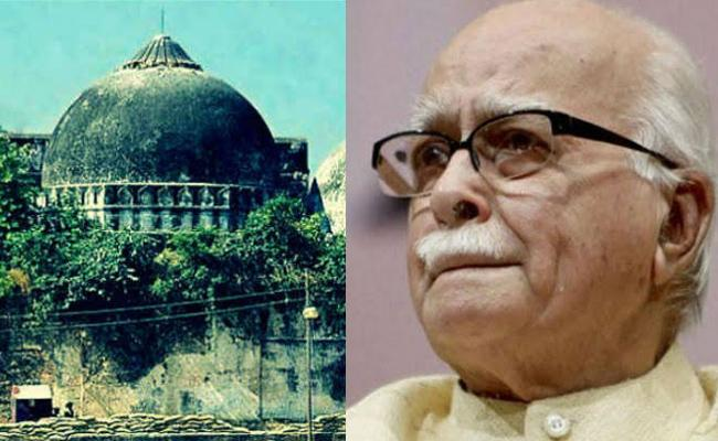 LK Advani Face Babri Masjid Demolition CBI Case - Sakshi