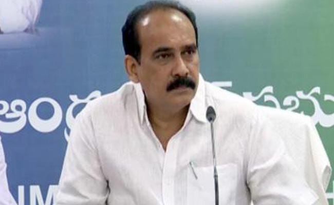 Balineni Srinivasa Reddy Said Forest Department Posts Notification In January - Sakshi