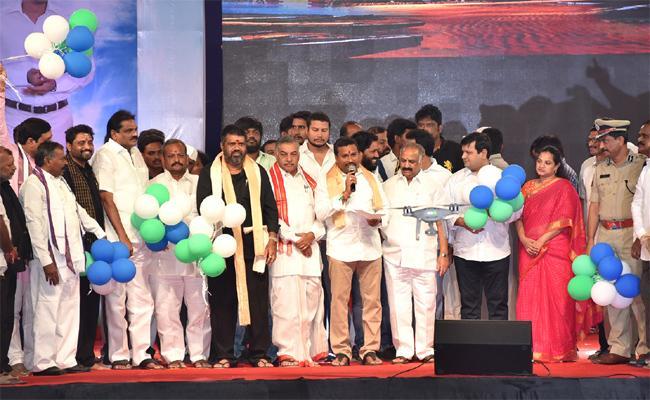 Endowment Minister Velampalli Srinivas Started Bheemili Utsavalu - Sakshi