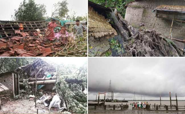 Cyclone Bulbul makes landfall in West Bengal - Sakshi