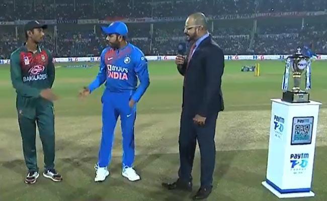 IND VS BAN 3rd T20: Manish In For Krunal - Sakshi