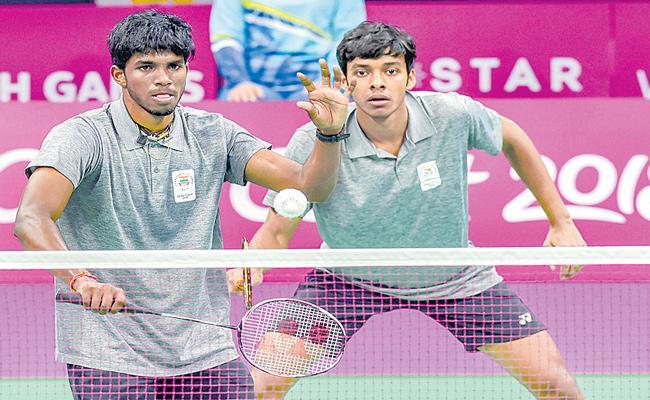 Satvik And Chirag Lost Semi Finals In China Open Tournament - Sakshi