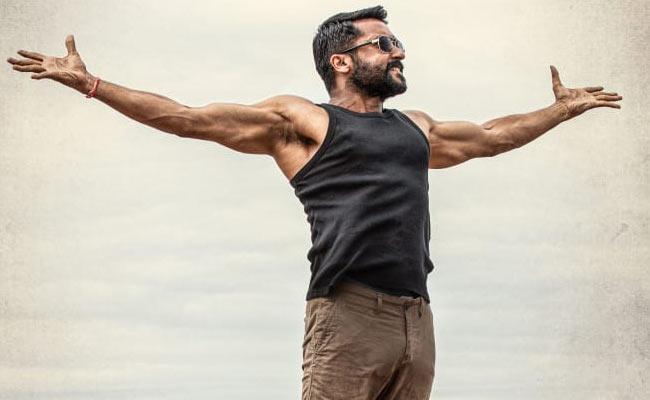 Surya Aakasam Nee Haddura Telugu Movie First Look Revealed - Sakshi