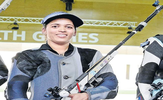 Women's Star Shooter Tejaswini Confirmed Her Berth In Tokyo Olympic - Sakshi